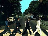 the Beatles @ Abbey Road by Unknown Artist